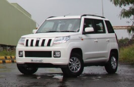 Mahindra TUV300 wheels and tires specs icon