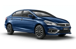 Maruti Ciaz wheels and tires specs icon