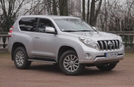 Toyota Land Cruiser Prado - Specs of wheel sizes, tires ...