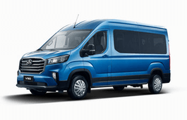 Maxus V90 wheels and tires specs icon