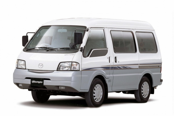 Mazda Bongo Van wheels and tires specs icon