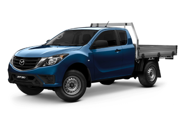 Mazda BT-50 UR Facelift Freestyle Cab Chassis