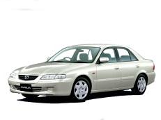 Mazda Capella wheels and tires specs icon