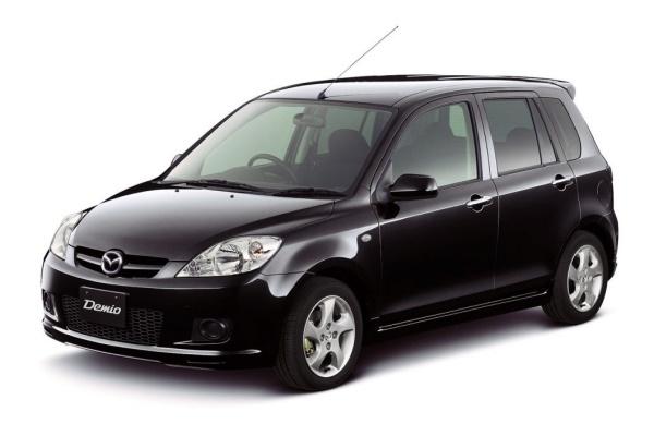 Mazda Demio wheels and tires specs icon