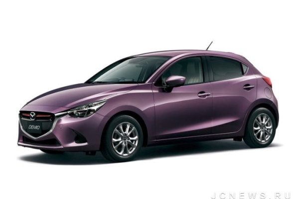 Mazda Demio wheels and tires specs icon