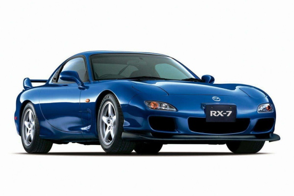 Mazda Efini RX-7 wheels and tires specs icon
