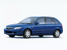 Mazda Familia wheels and tires specs icon