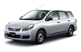 roues et icone de spécifications de pneus pour Mazda Familia Van