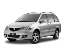 Mazda MPV wheels and tires specs icon