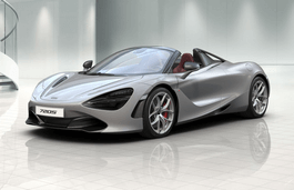 McLaren 720S Spider wheels and tires specs icon