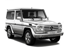 Mercedes-Benz Clase G W463 Closed Off-Road Vehicle