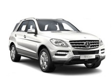 Mercedes-Benz M-Class W166 Closed Off-Road Vehicle
