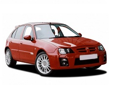 MG ZR wheels and tires specs icon