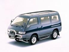 Mitsubishi Delica Van wheels and tires specs icon