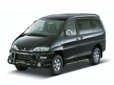 Mitsubishi Delica Space Gear wheels and tires specs icon
