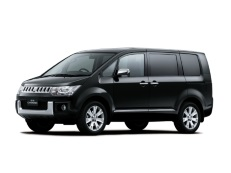 Mitsubishi Delica D:5 wheels and tires specs icon