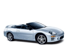 Mitsubishi Eclipse Spider wheels and tires specs icon
