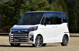 Mitsubishi eK Space Custom Facelift Hatchback