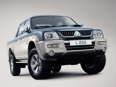 Mitsubishi L200 wheels and tires specs icon