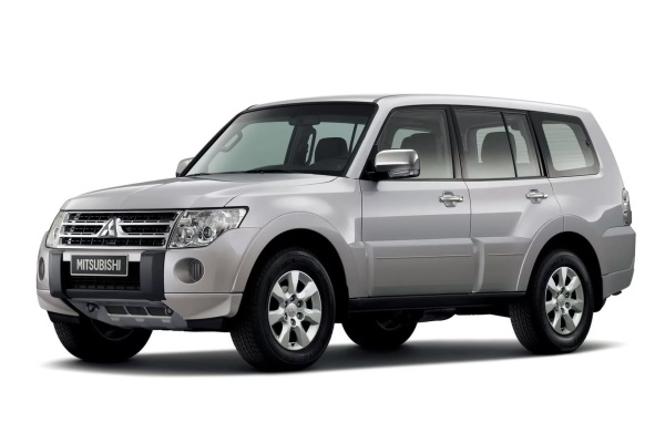 Mitsubishi Montero V80 Closed Off-Road Vehicle