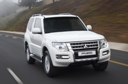 Mitsubishi Montero IV Restyling Closed Off-Road Vehicle