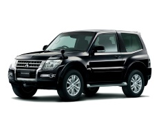 Mitsubishi Pajero V80 Restyling Closed Off-Road Vehicle