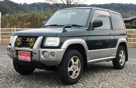 Mitsubishi Pajero Mini II Closed Off-Road Vehicle