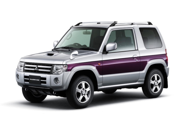 Mitsubishi Pajero Mini wheels and tires specs icon