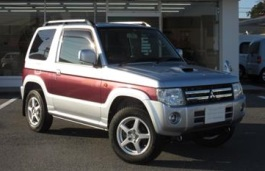 Mitsubishi Pajero Mini II Restyling Closed Off-Road Vehicle