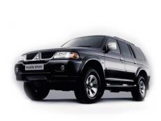 Mitsubishi Pajero Sport wheels and tires specs icon