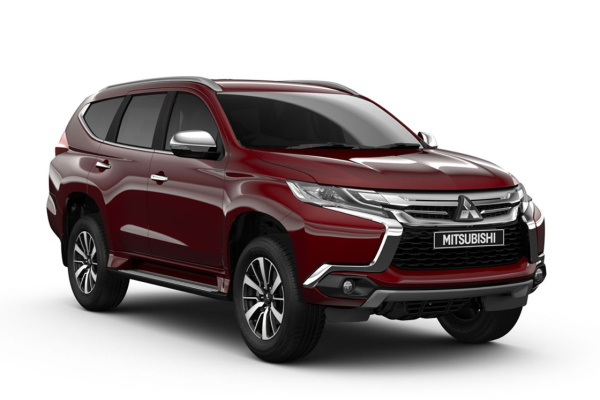 Mitsubishi Pajero Sport wheels and tires specs icon