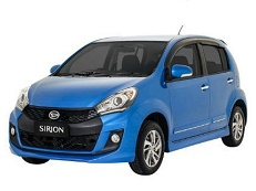 Daihatsu Sirion wheels and tires specs icon