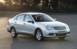 Nissan Almera wheels and tires specs icon
