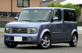 Nissan Cube Cubic wheels and tires specs icon