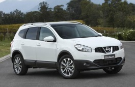 Nissan Dualis+2 wheels and tires specs icon