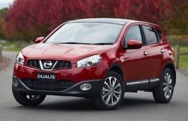 Nissan Dualis J10 Restyling Closed Off-Road Vehicle