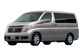 Nissan Elgrand wheels and tires specs icon