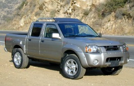 Nissan Frontier wheels and tires specs icon