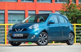 Nissan March IV (K13) Restyling Hatchback