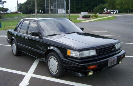 Nissan Maxima II (PU11) Седан