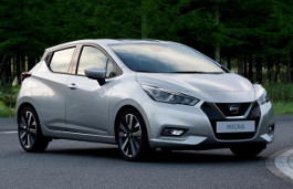 Nissan Micra wheels and tires specs icon
