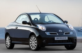 Nissan Micra C+C wheels and tires specs icon