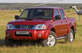 Nissan NP300 wheels and tires specs icon