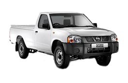 Nissan NP300 Hardbody wheels and tires specs icon