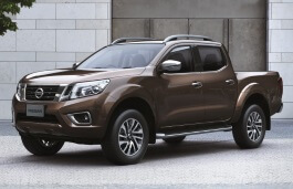 Nissan NP300 Navara wheels and tires specs icon