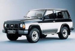 opony do Nissan Patrol IV (Y60) [1988 .. 1997] Closed Off-Road Vehicle, 3d