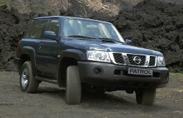 opony do Nissan Patrol V (Y61) Restyling [2004 .. 2010] Closed Off-Road Vehicle, 3d