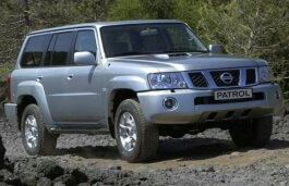 Nissan Patrol Safari wheels and tires specs icon