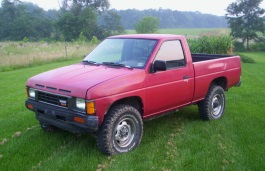 D21 [1986 .. 1992] Pickup Regular Cab, 2d