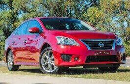 Nissan Pulsar Facelift (B17) Седан